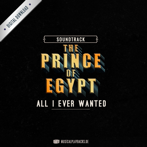 All I ever wanted - The Prince of Egypt (Karaoke)